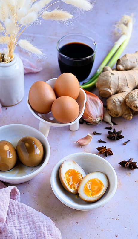 Marinated Ramen Eggs - Ajitsuke Tamago