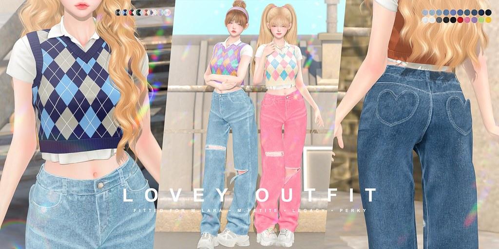 cheezu. lovey outfit x anthem
