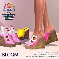 [Sheba] Bloom Wedges FBF SALE