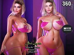 3.Sixty - Ariel Lingerie Undress Me for  Inithium Kupra
