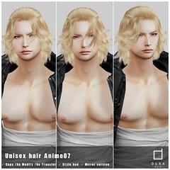 *Dura* Dura-Anime07 (Unisex hair)