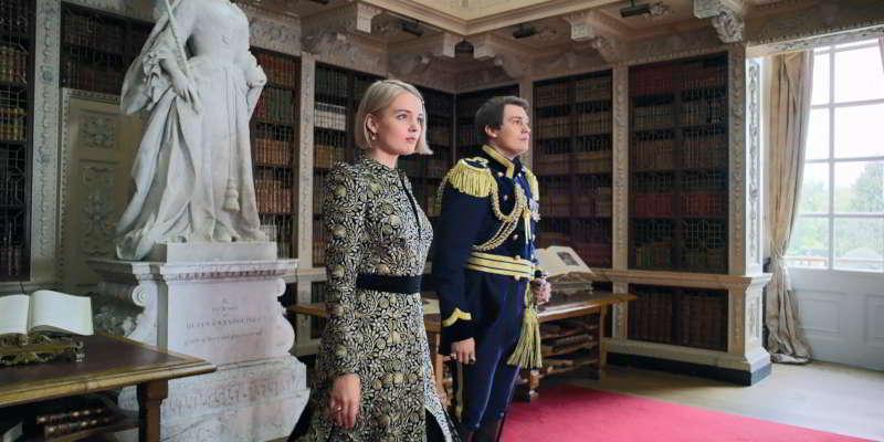 Blenheim Palace library