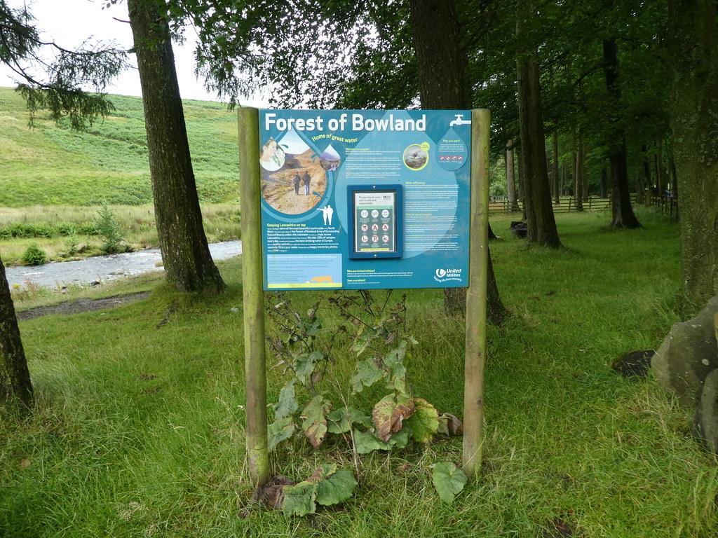 Langden Beck, Trough of Bowland walking trail