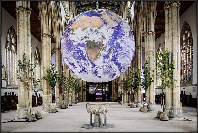 Revolving Globe ...