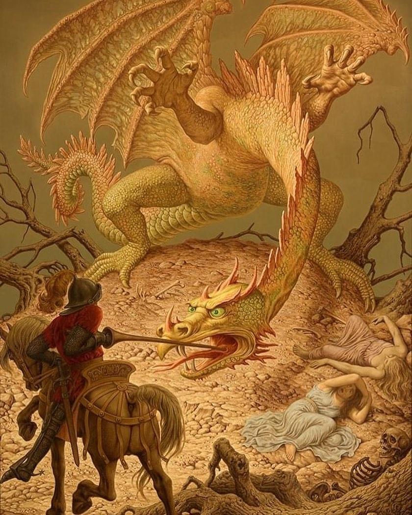 Johfra Bosschart - Joris and the Dragon