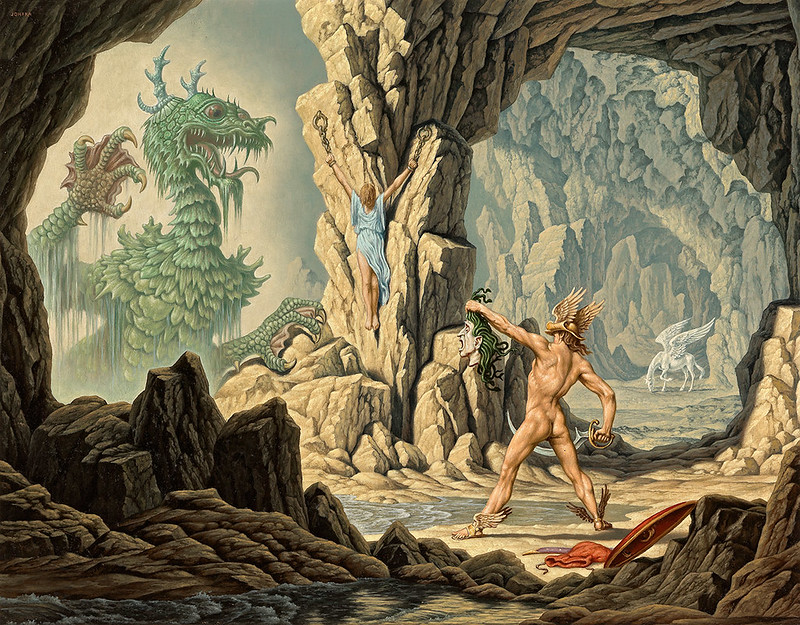 Johfra Bosschart - The Liberation of Andromeda
