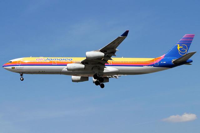 Air Jamaica | Airbus A340-300 | 6Y-JMP | London Heathrow