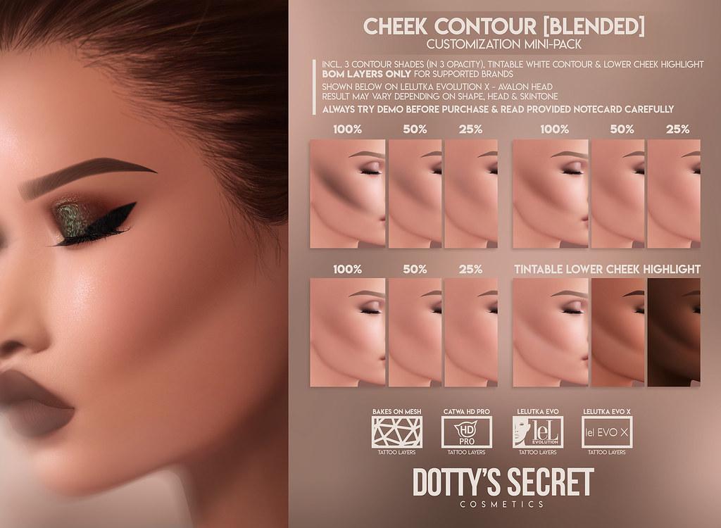 Dotty's Secret x Anthem Event // Cheek Contour [BLENDED] – Mini-Pack