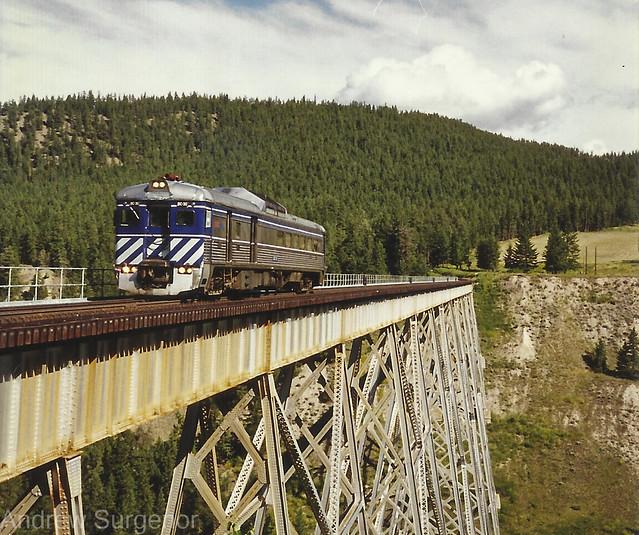 BC Rail - Budd RDC