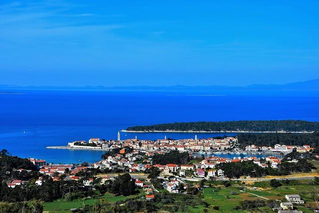 panorama grada Rab - otok Rab - Croatia