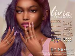 LIVIA // Raina Bento Rings