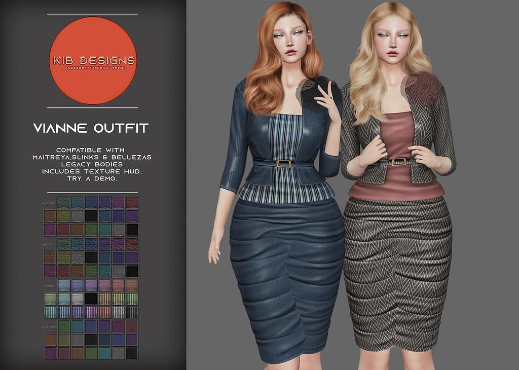 KiB Designs – Vianne Outfit @Designer Showcase 5th Sept.