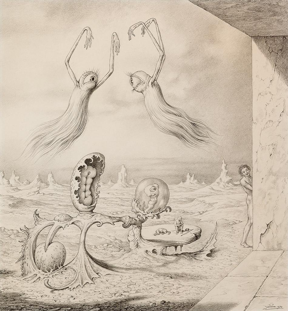 Johfra Bosschart - A Painful Encounter