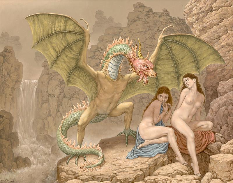 Johfra Bosschart - The Dragon in Love