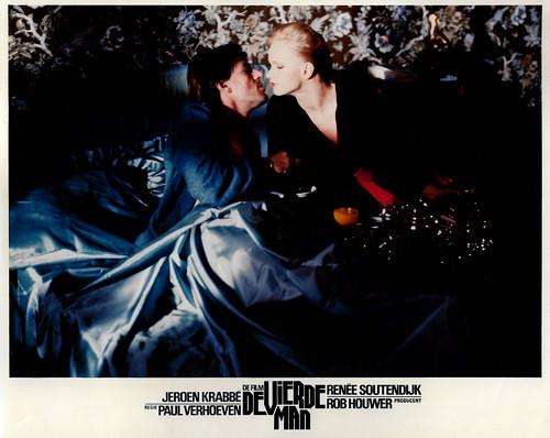 Jeroen Krabbé and Renée Soutendijk in De vierde man (1983)