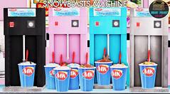 Junk Food - Snowblasts Machine Ad