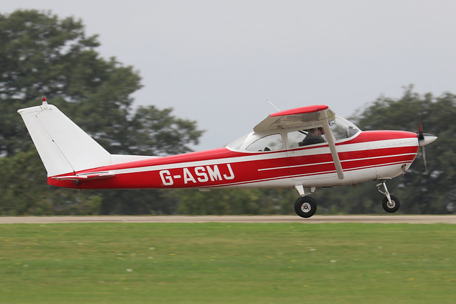 G-ASMJ  -  Reims/Cessna F172E c/n F172-0029  -  EGBK 3/9/21