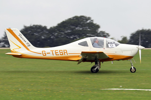 G-TESR  -  Tecnam P2002 Sierra RG c/n PFA 333-14758  -  EGBK 3/9/21