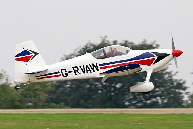 G-RVAW  -  Vans RV-6 c/n PFA 181-13234  -  EGBK 3/9/21