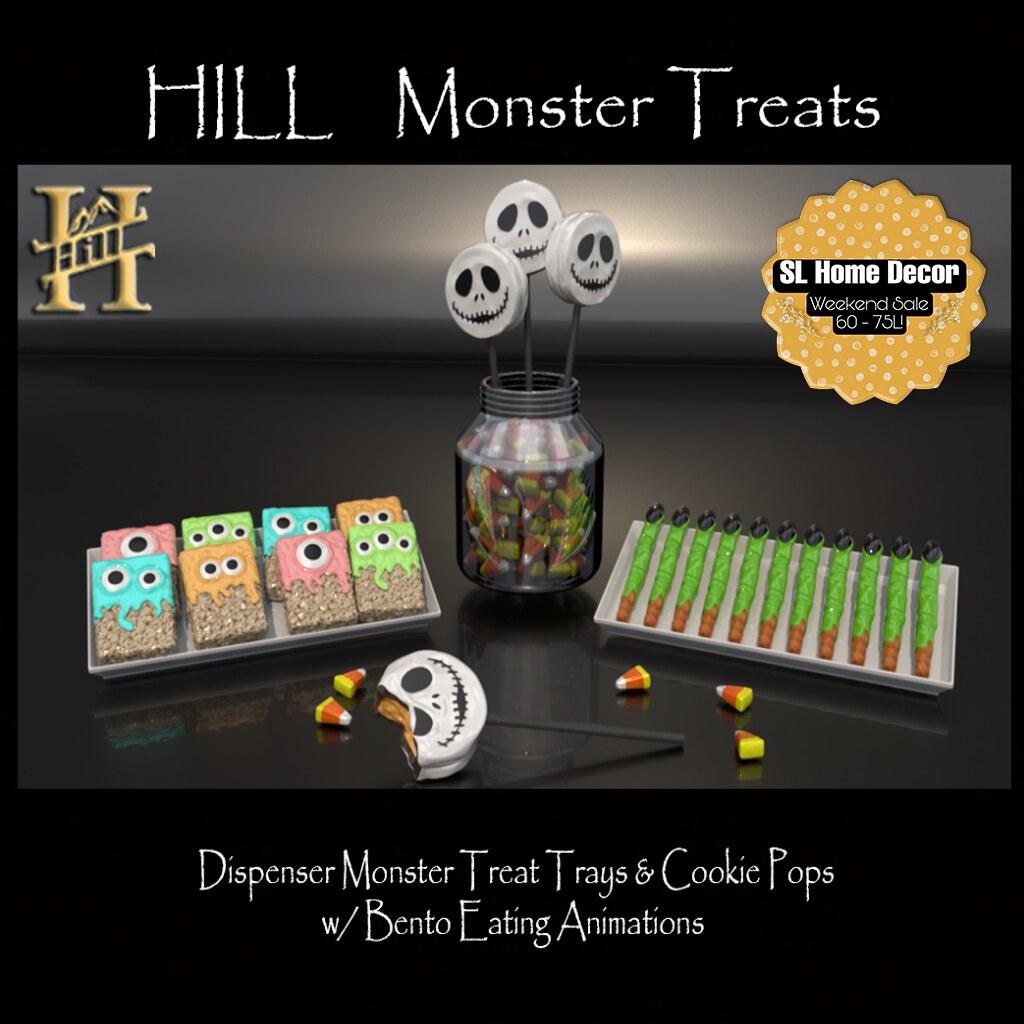 Hill Monster Treats $Sale$