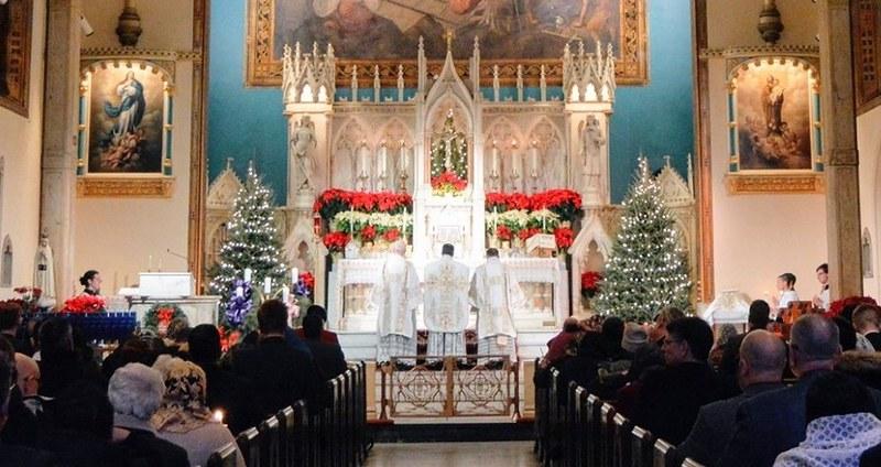 Parroquia de los Santos Inocentes, Nueva York