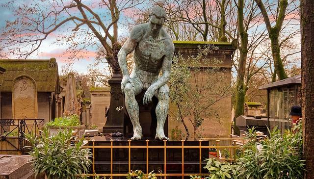 Montmartre Cemetery / Tomb of Jean Bauchet