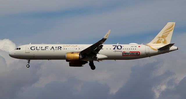 Gulf Air, A9C-NA, MSN 9433, Airbus A321-253NX, 08.08.2021, FRA-EDDF, Frankfurt
