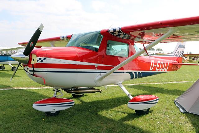 D-ECUJ  -  Reims-Cessna FRA150L Aerobat c/n FRA150-0184  -  EGBK 3/9/21