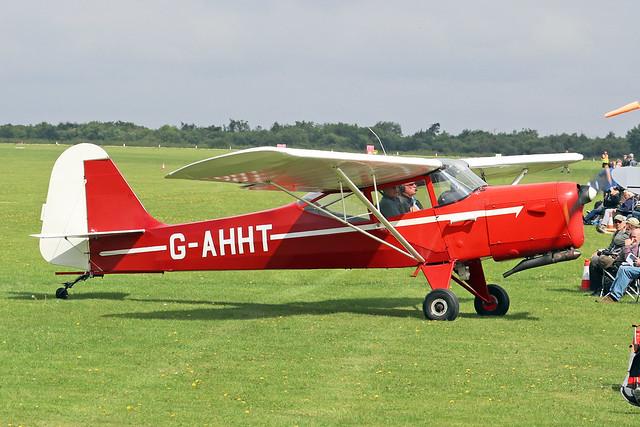 G-AHHT  -  Auster J/1N Alpha c/n 2022  -  EGBK 3/9/21