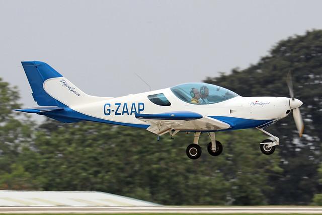 G-ZAAP  -  Czech Aircraft Works SportCruiser c/n PFA 338-14663  -  EGBK 3/9/21