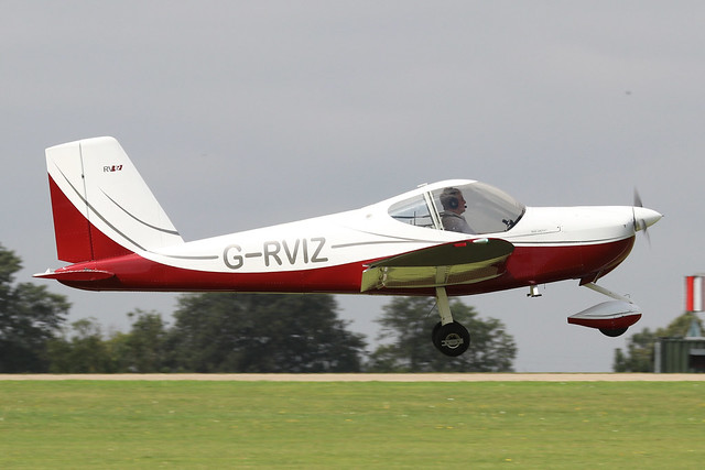 G-RVIZ -  Vans RV12 c/n LAA 363-15034  -  EGBK 3/9/21