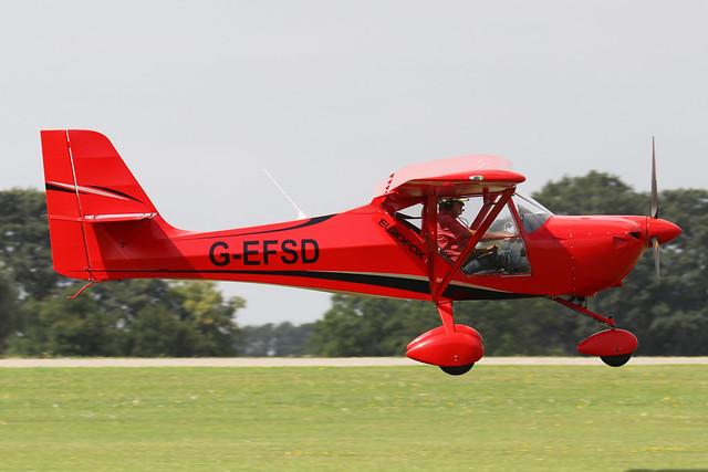 G-EFSD  -  Aeropro EuroFox 912(IS) c/n 48015  -  EGBK 3/9/21