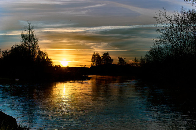 Sunrise at the River - Aach