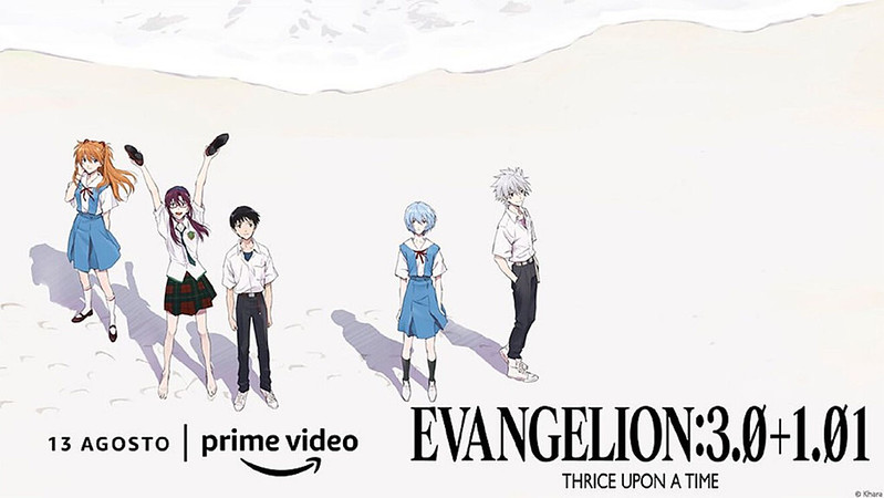 Reseña evangelion thrice upon a time
