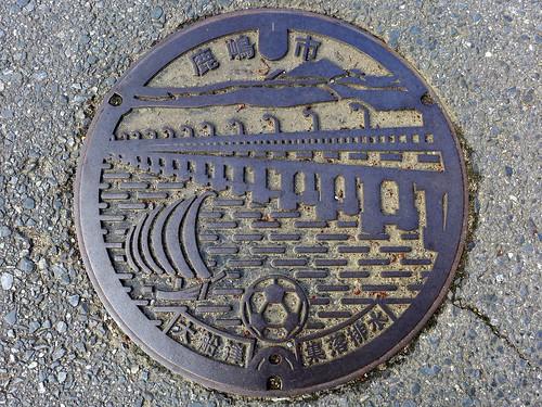 Kashima Ibaraki, manhole cover 4 (茨城県鹿嶋市のマンホール4)
