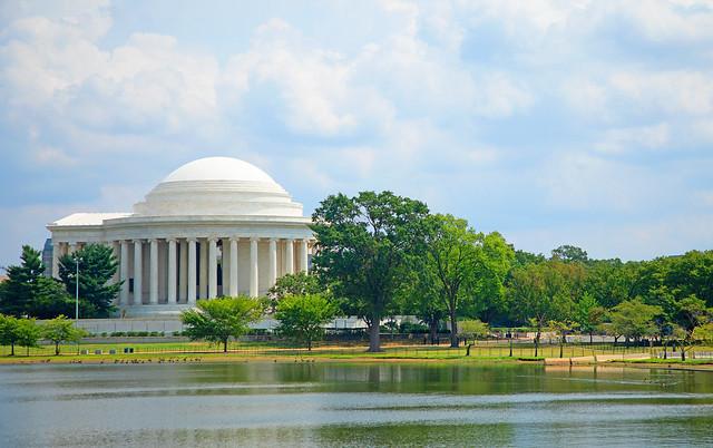 Jefferson Memorial, Tidal Basin
