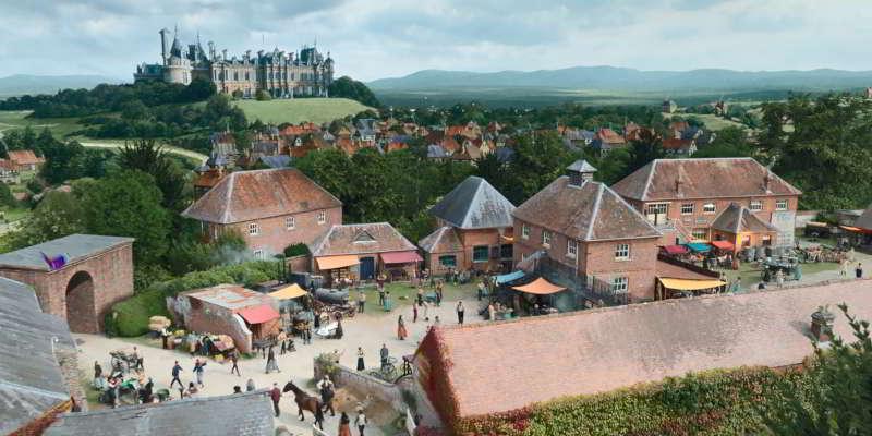 Cinderella town