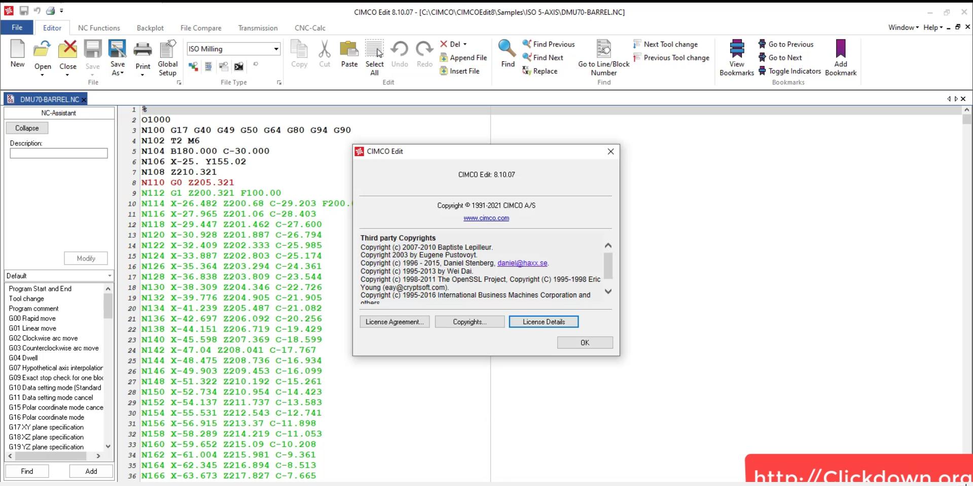 Working with CIMCO Edit 8.10.07 Multilanguage full
