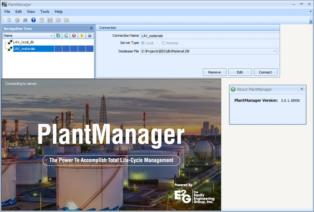 Working with Equity Engineering Group PlantManager v3.0.1.18956 full