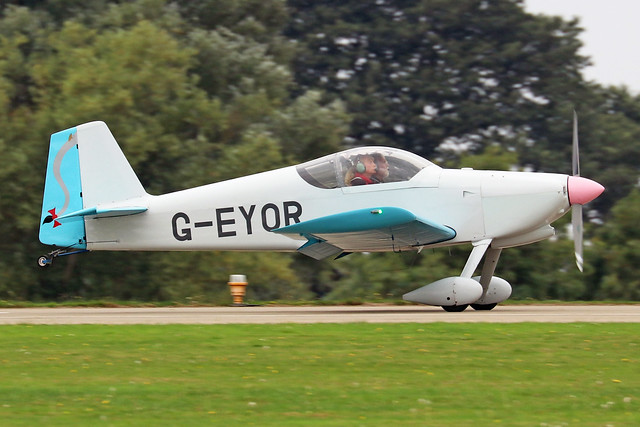 G-EYOR  -  Vans RV-6 c/n PFA 181A-13259  -  EGBK 3/9/21