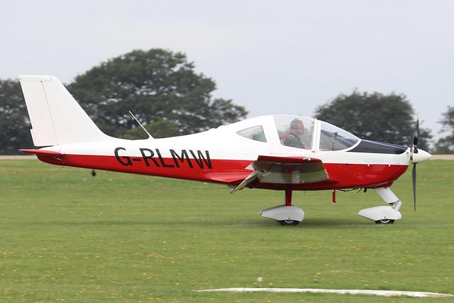G-RLMW  -  Tecnam P2002 EA Sierra c/n PFA 333-14536  -  EGBK 3/9/21