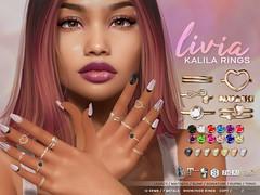 LIVIA // Kalila Bento Rings