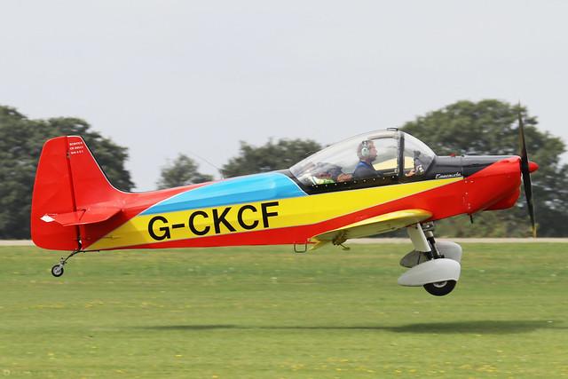 G-CKCF -  Scintex CP301C Emeraude c/n 577  -  EGBK 3/9/21