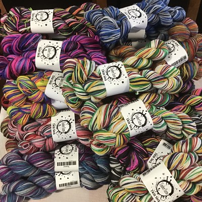 A big order of Timber Yarns Twin Sock arrived!!