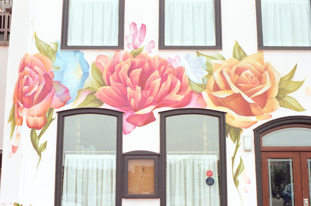 Piano Piano Mural over the Window