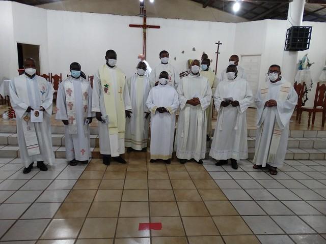 Ordenação Diaconal Filbert Nkanga, Luiz Boina e José Brás