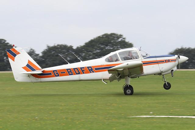 G-BDFR  -  FUJI FA200-160 Aero Subaru c/n FA200-262  -  EGBK 3/9/21