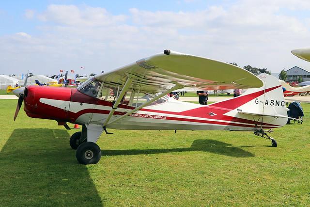 G-ASNC  -  Beagle Auster D5/180 Husky c/n 3678  -  EGBK 3/9/21