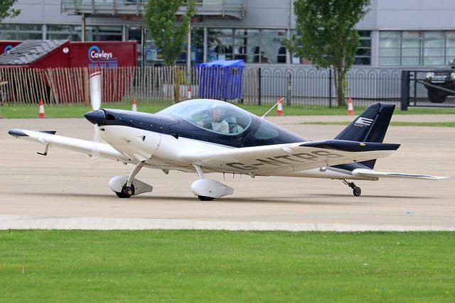 G-NTPS  -  BRM Bristell NG5 Speed Wing c/n LAA 385-15243  -  EGBK 3/9/21
