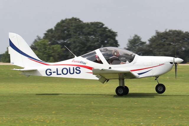 G-LOUS  -  EV-97 Eurostar SL c/n 2016-4234  -  EGBK 3/9/21
